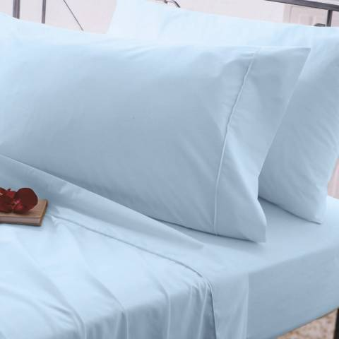 Belledorm Egyptian Cotton Double Duvet Cover, Ocean