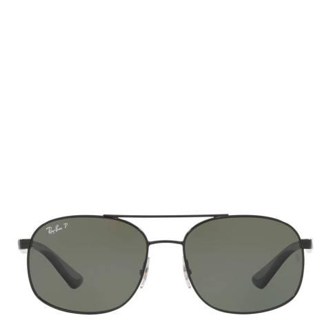 Ray-Ban Unisex Black Sunglasses 58mm