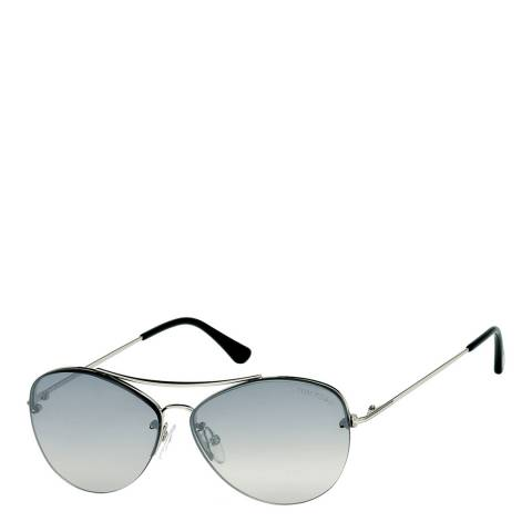 Tom Ford Women's Silver/Grey Sunglasses 60mm