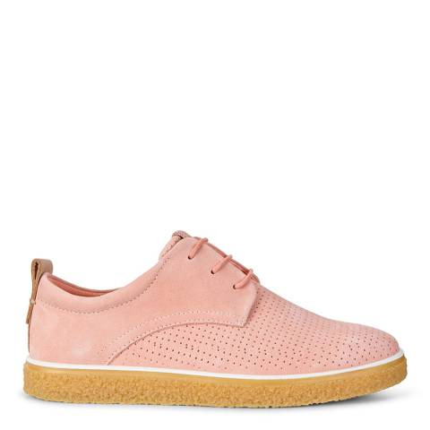 ECCO Muted Clay Pink Powder Sneaker