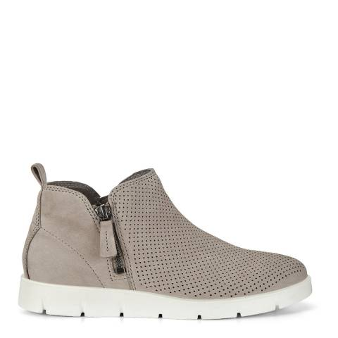 ECCO Warm Grey Bella Ankle Boots