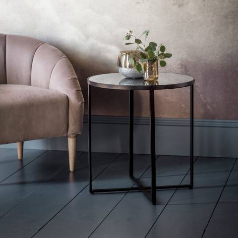 Gallery Torrance Side Table, Silver
