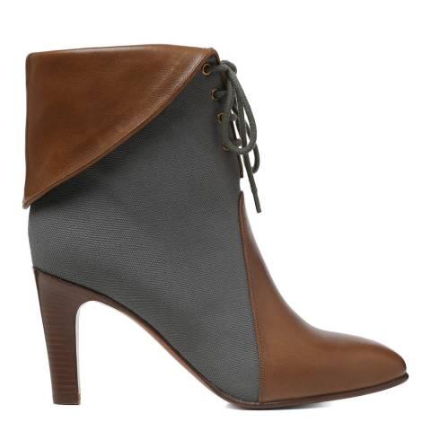 Chloé Slate Grey Kole Ankle Ankle Boots
