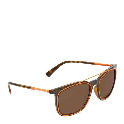 Versace Unisex Brown Versace Sunglasses 56mm
