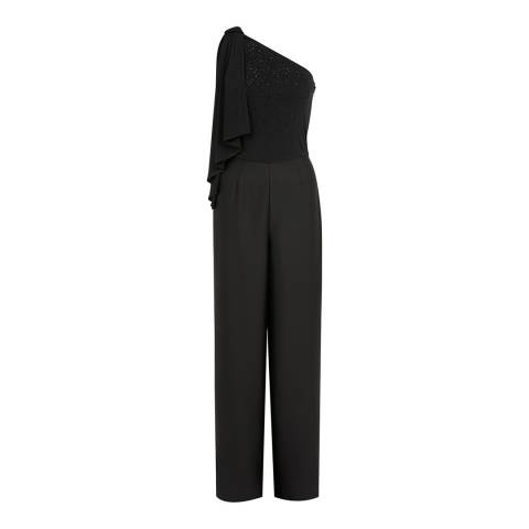 Coast Black Sasha Sparkle Jumpsuit