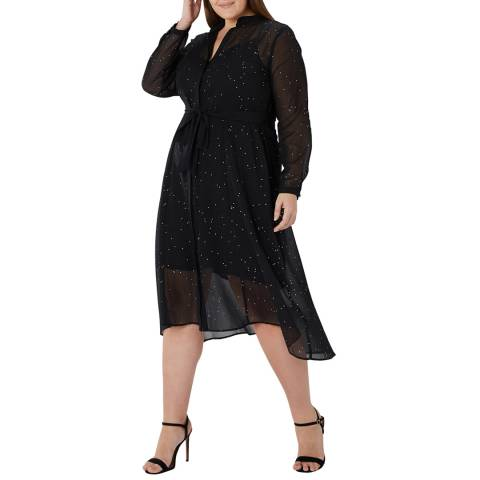Coast Black Karen Hotfix Curve Dress