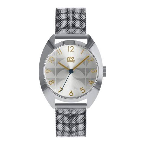 Orla Kiely Cream Dial & Subtle Stem Print Cheyne Watch
