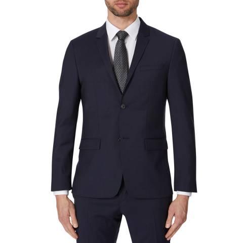 Calvin Klein True Navy Tate Modern Wool Jacket