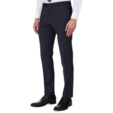 Calvin Klein True Navy Paris Modern Wool Trousers