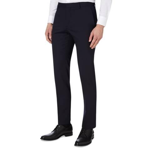 Calvin Klein Midnight Paris Stretch Wool Trousers