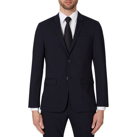 Calvin Klein Midnight Tate Stretch Wool Jacket