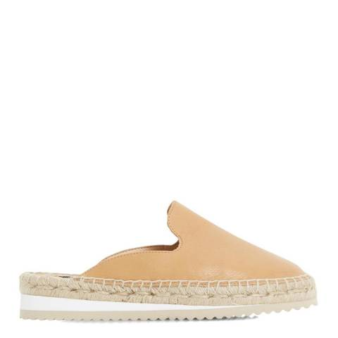 Dune London Tan Suede Geniee Espadrille Shoes