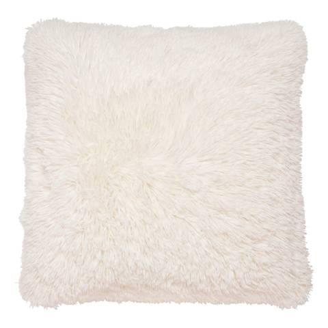 Catherine Lansfield Cuddly Cushion, Cream