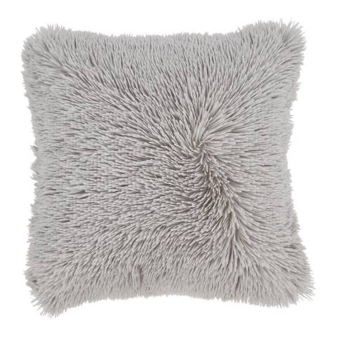 Catherine Lansfield Cuddly Cushion, Silver