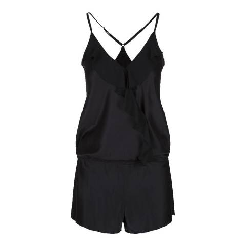 LingaDore Black Precious Love Jumpsuit
