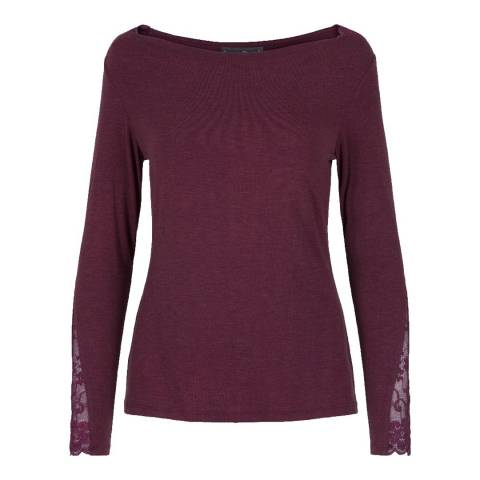 LingaDore Crushed Berry Fizz Long Sleeve Top