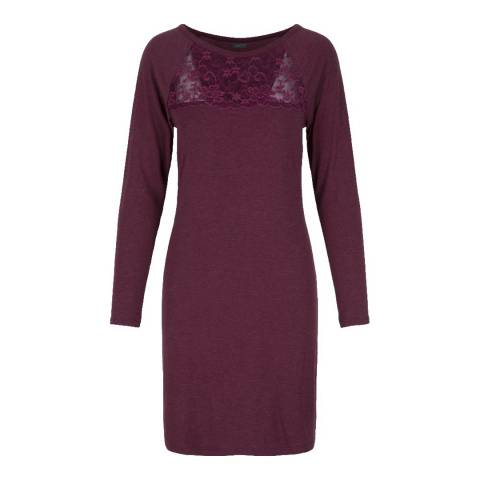 LingaDore Crushed Berry Moonlight/Fizz Berry Long Sleeve Dress