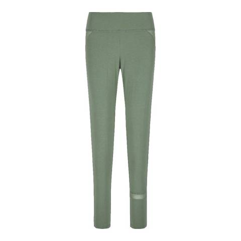LingaDore Green Cactus Long Pants with net