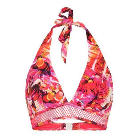 LingaDore Toucan Print Paradise Wire Triangle Bikini Top