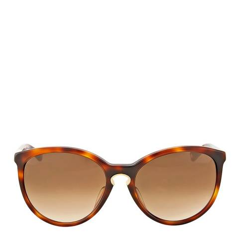 Dior Women's Havana Brown Confident Sunglasses 58mm