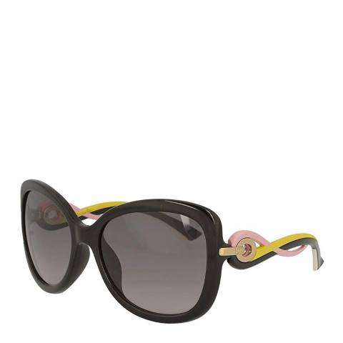 Dior Women's Pink / Yellow Twisting Sunglasses 58mm