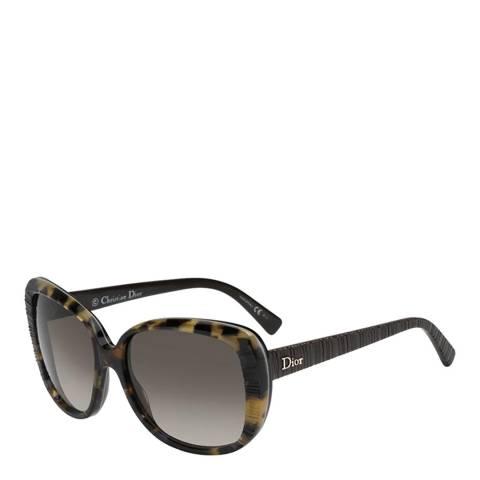 Dior Women's Brown Havana Sunglasses 59mm