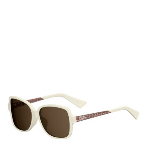 Dior Women's Ivory Peach Diorama Sunglasses 58mm