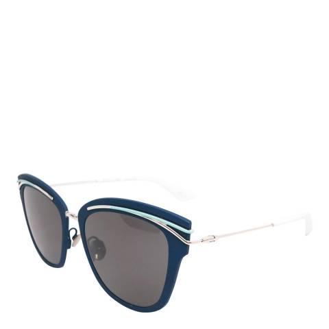 Dior Women's Blue Cat Eye Sunglasses 53mm