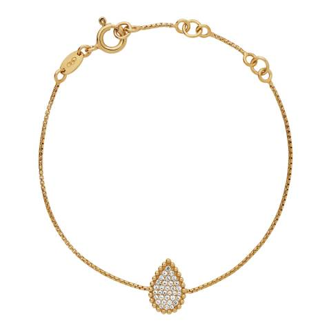 Links of London Yellow Gold Pure Drop Bracelet