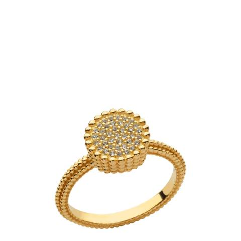 Links of London Yellow Gold Pure Round Ring