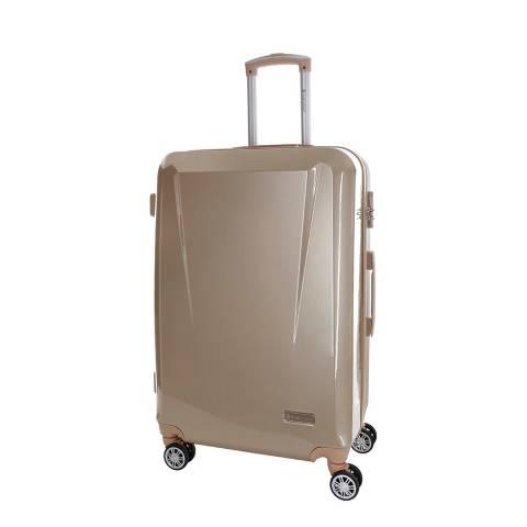 Platinium Beige Southport 8 Wheel Suitcase 56cm