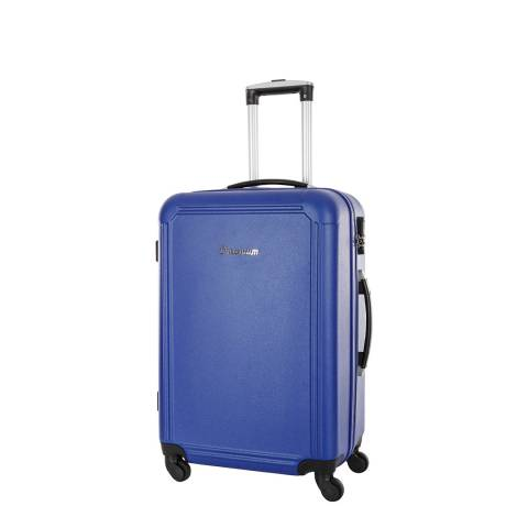 Platinium Blue Walsall 4 Wheel Suitcase 50cm