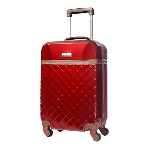 Platinium Bordeaux Trendy 4 Wheel Suitcase 70cm