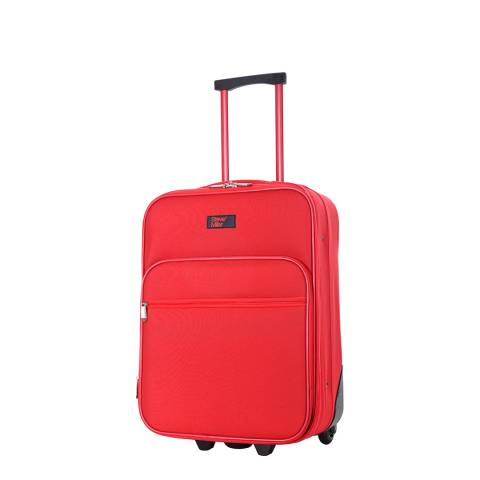 Steve Miller Red Great 2 Wheel Suitcase 50cm