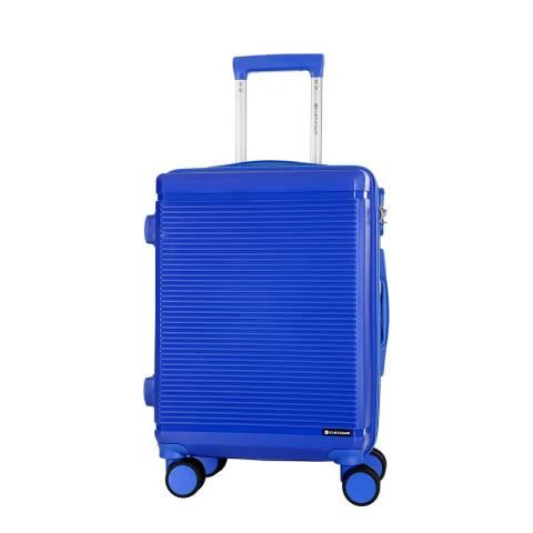 Platinium Blue Redhill 8 Wheel Suitcase 66cm