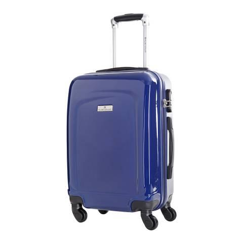 Platinium Blue Clarks 4 Wheel Suitcase 70cm