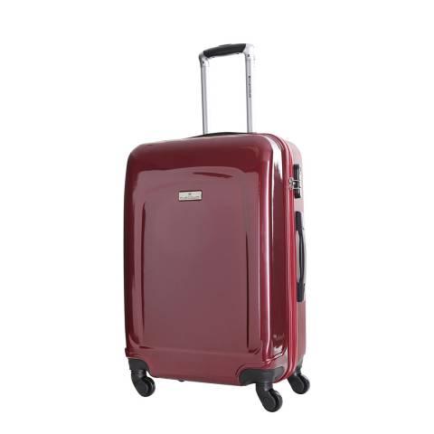 Platinium Bordeaux Clarks 4 Wheel Suitcase 60cm
