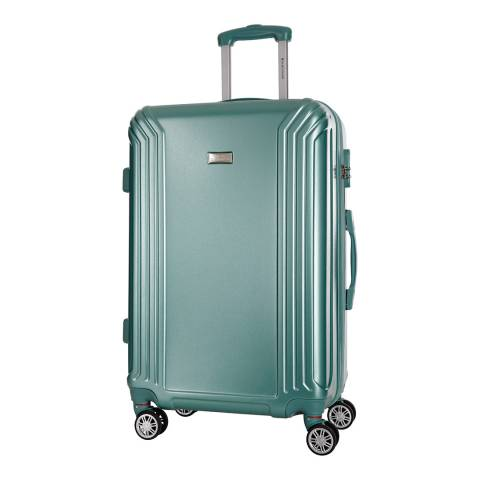 Platinium Green Kirwee 8 Wheel Suitcase 66cm