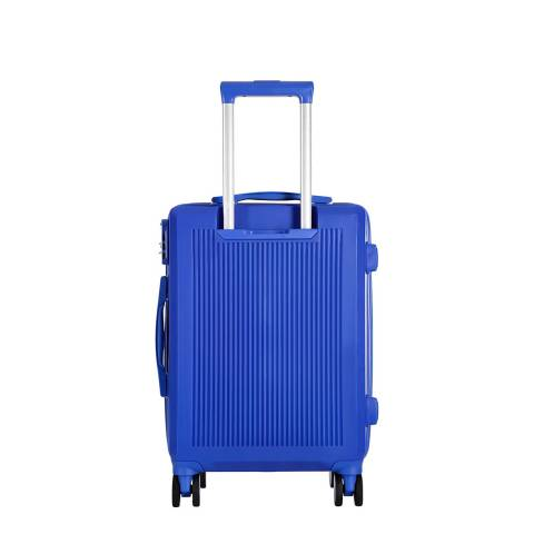 Platinium Blue Redhill 8 Wheel Suitcase 56cm