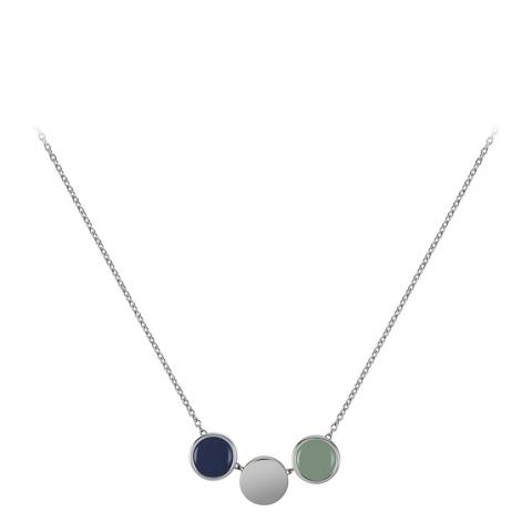 Radley Silver Enamel Drop Necklace