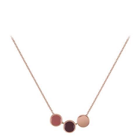 Radley Rose Gold Enamel Drop Necklace