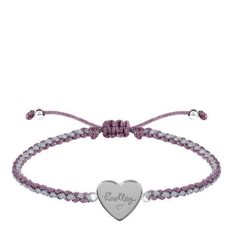 Radley Braided Heart Friendship Bracelet