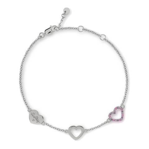 Radley Silver Heart Charm Bracelet