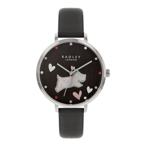 Radley Charcoal Leather Strap Watch