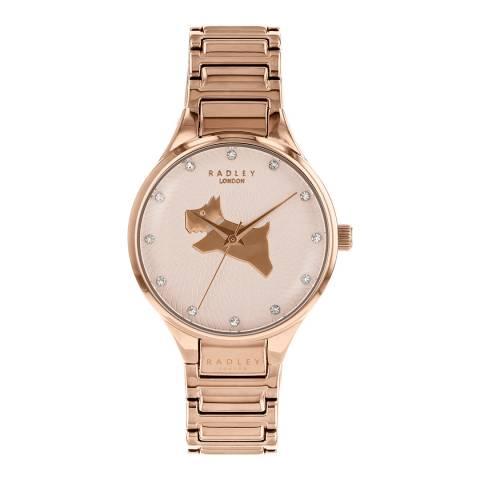 Radley Rose Gold On The Run Bracelet Watch