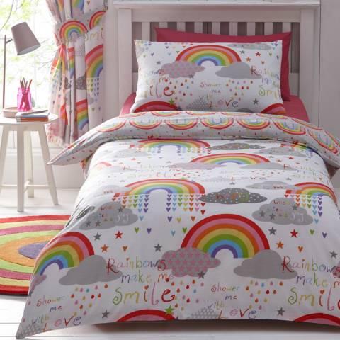 Kids Club Clouds & Rainbows 168x183cm Curtains