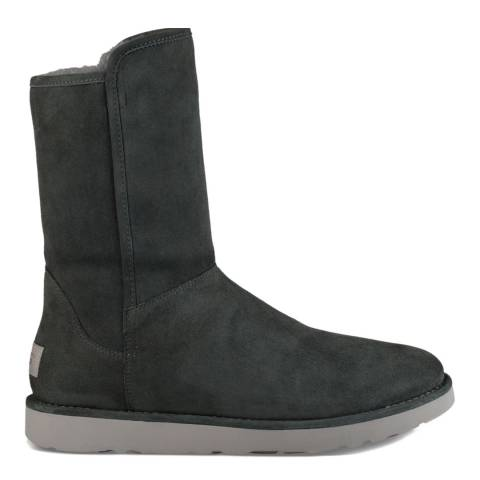 UGG Dark Grey Suede Abree Short II Boots