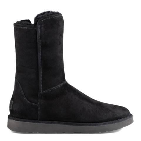 UGG Black Suede Abree Short II Boots