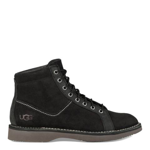 UGG Black Suede Camino Monkey Boots