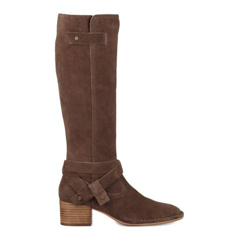 UGG Brown Suede Bandara Tall Boots